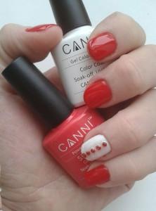 CANNI красный и белый