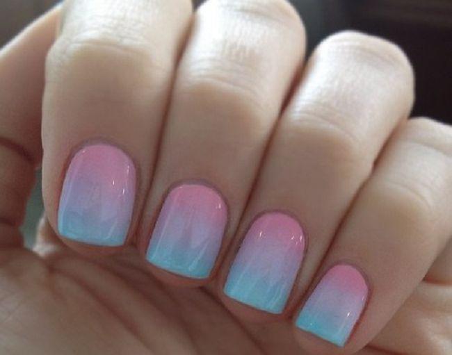 Дизайн ногтей с переходами фото