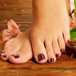 Ухоженные ногти ног