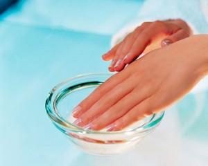 Ванночка для ногтей рук