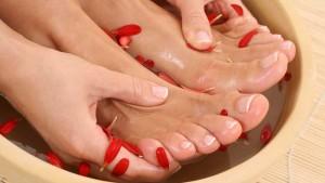 Ванночка для ногтей ног