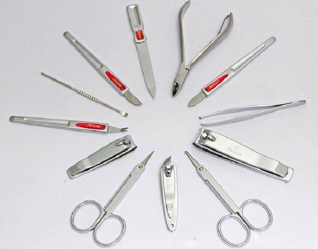 Инструменты и оборудования для выполнения маникюра