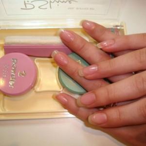 Подготовка к запечатыванию ногтей