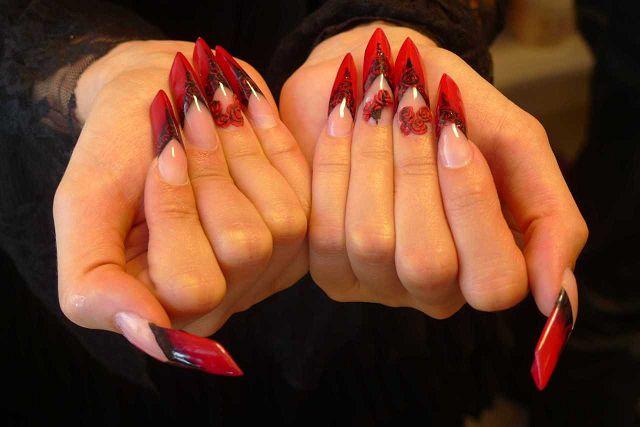 Нарощеные ногти эйдж