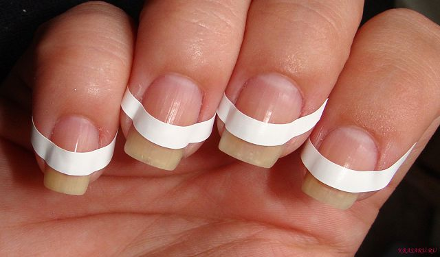 Наклейки на ногти своими руками