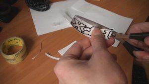 Трафареты для французского маникюра своими руками